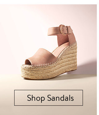 A little elevation: women's sandals.