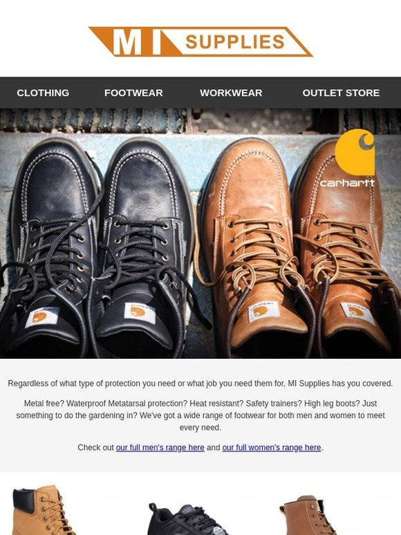 1fa09ee870dc9 MI Supplies: Our Top Footwear Brands Including Skechers, Timberland,  Carhartt and More | Milled