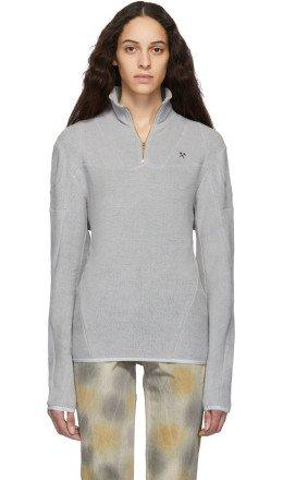 GmbH - Grey Organic Moses Sweater