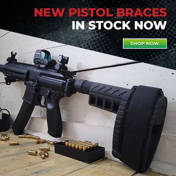 Cheaper Than Dirt: Pistol Braces Are Here! | Milled