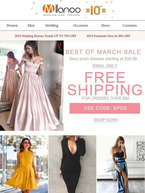6fb0def7d4 Milanoo UK: Best of March SALE Sexy prom dresses starting at $35.99 ...