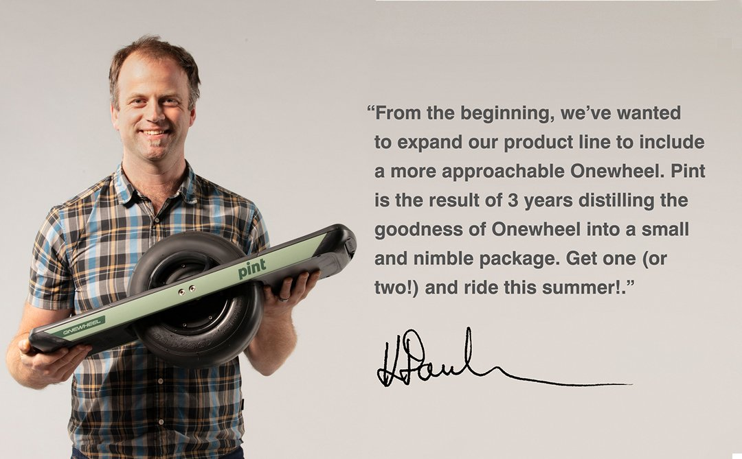 Onewheel XR: Introducing Pint | Milled