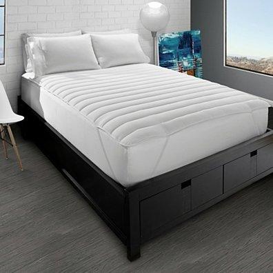 Big & Soft Fiber Bed Mattress Pad
