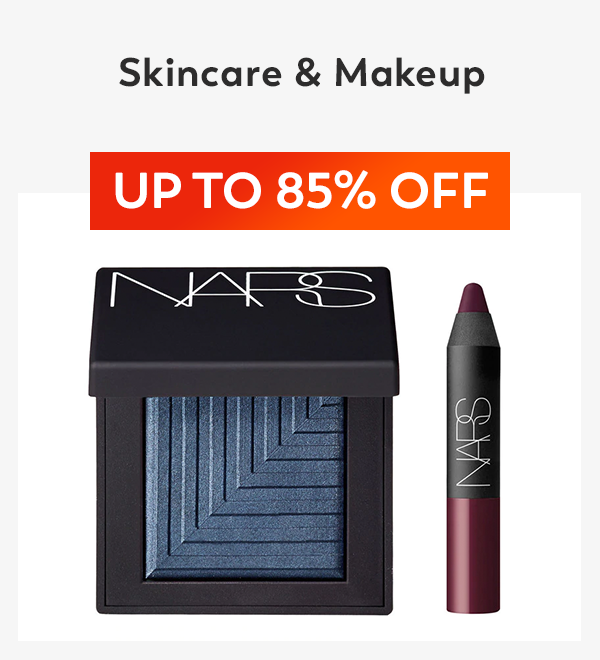 Up to 85% off Skincare & Makeup