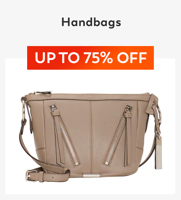 Up to 75% off Handbags
