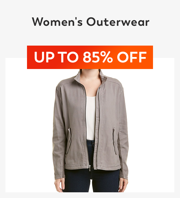 Up to 85% off Women's Outwear