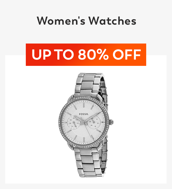 Up to 80% off Women's Watches