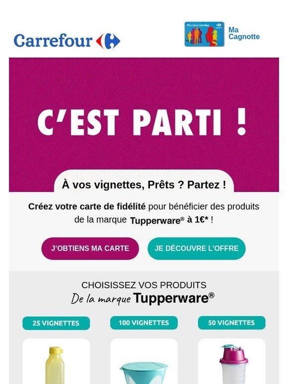 Carte Fidelite Carrefour Ooshop.Ooshop Carrefour Vos Produits De La Marque Tupperware A