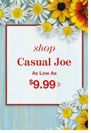 Shop Men's Casual Joe®