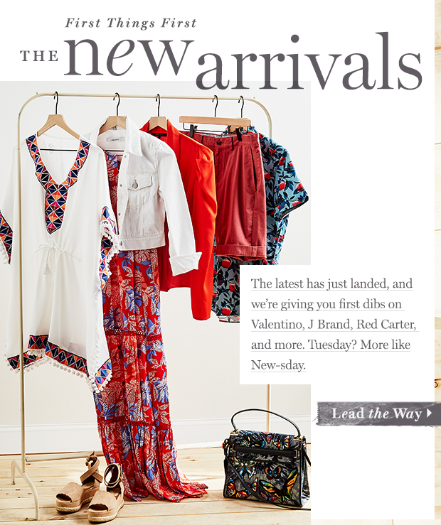 The New Arrivals for Women & Men: Your Fashion First-Look