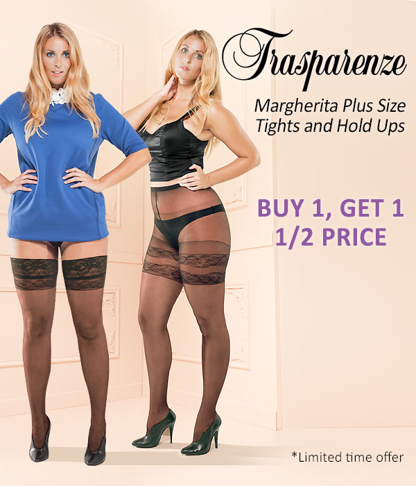e8867926c87e7 UK Tights: Buy 1 Get 1 Half Price Trasparenze Margherita Plus Size ...