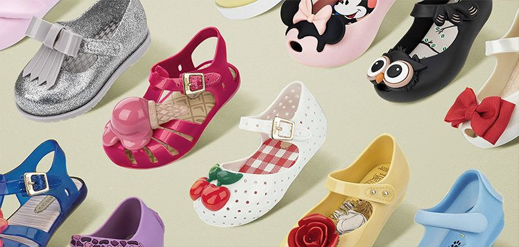 Kids' Shoe Labels With Mini Melissa
