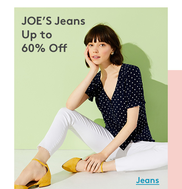 JOE'S Jeans Up to 60% Off | Jeans