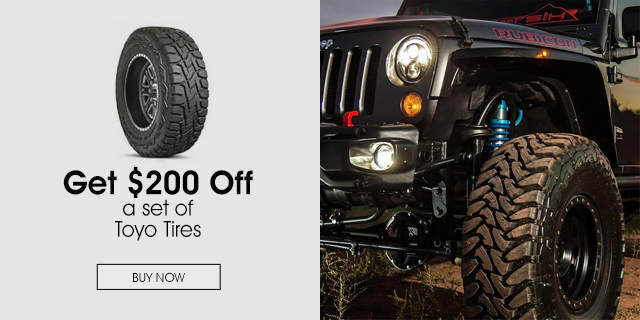 $200 Off a set of Toyo Tires