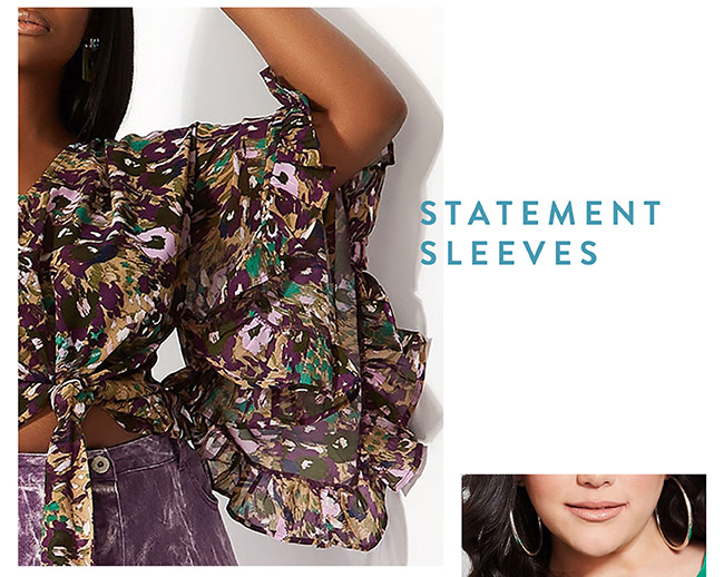 Statement Sleeves - Shop Now
