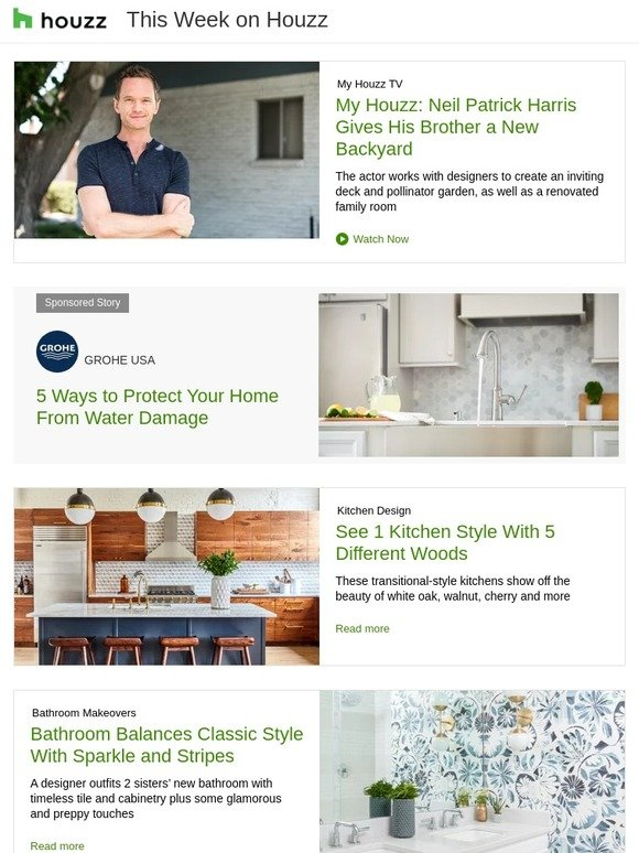 Houzz 1 Kitchen Style With 5 Different Woods How To Get Your