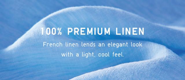 100% PREMIUM LINEN