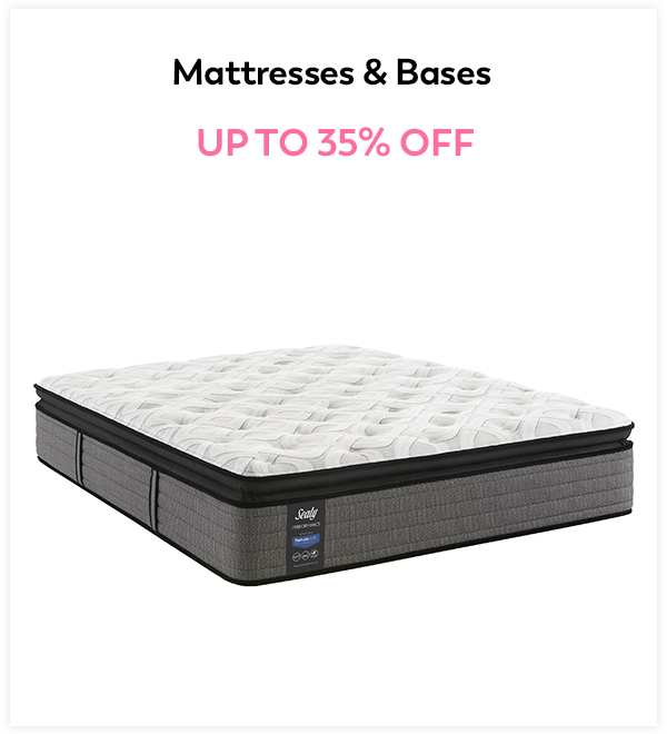 Up to 30% Off Mattresses & Bases