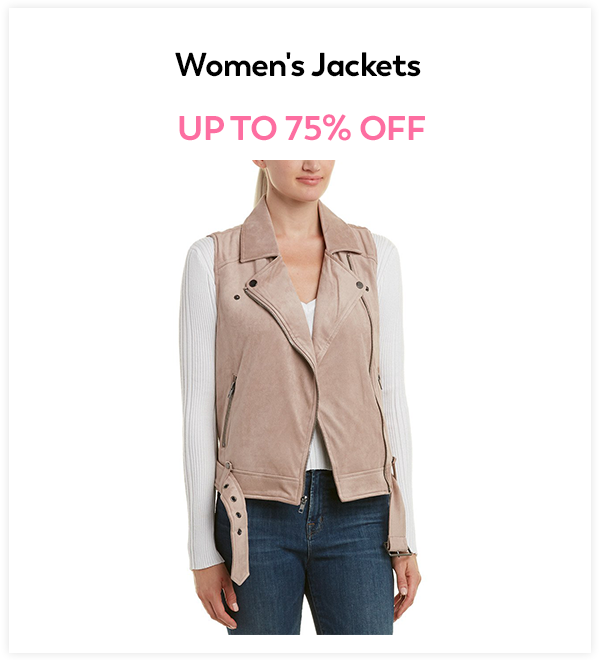 Up to 75% Off Women's Jackets