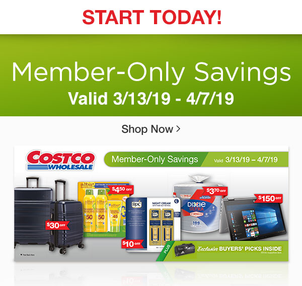 Costo: Starts Today! NEW Member-Only Savings + Exclusive