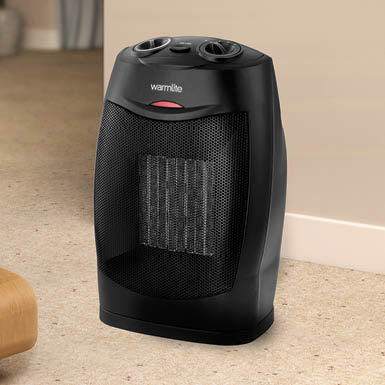 Neostar® Oscillating Ceramic Heater - Set of 2