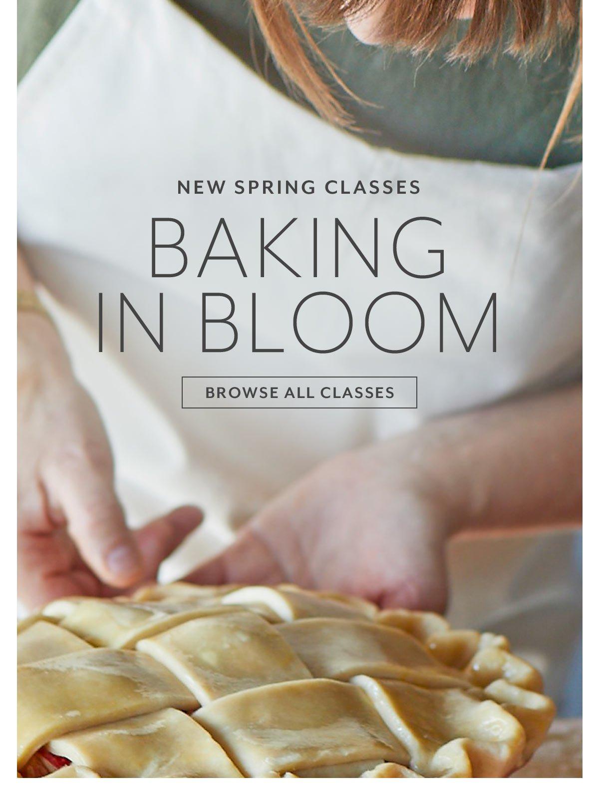 Baking in Bloom