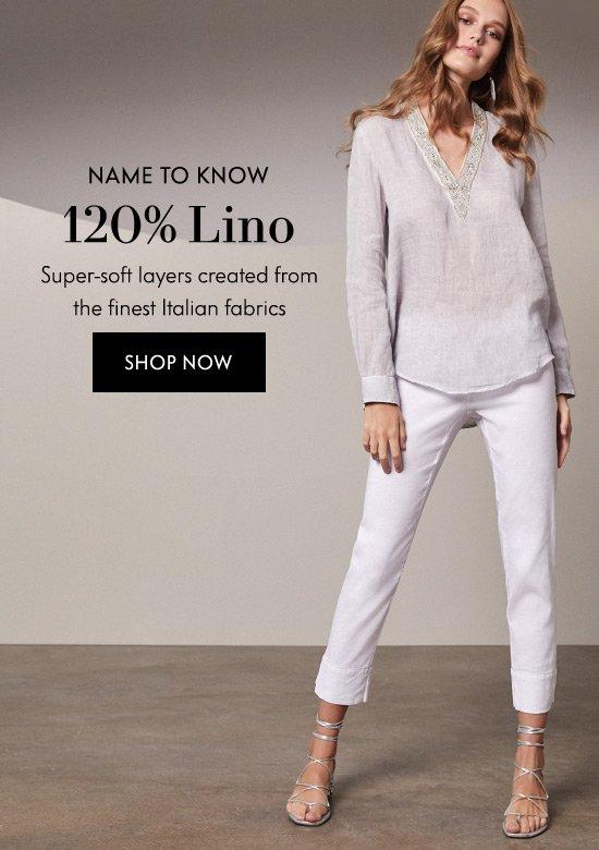 Shop 120% Lino