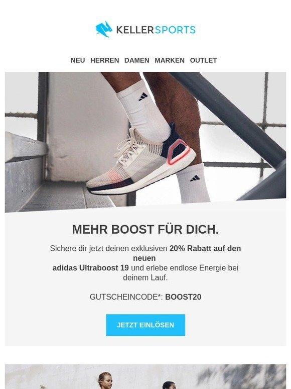 e6d362a8c7 keller-sports.de - Sportartikel online bestellen: -20% auf den adidas  Ultraboost 19 | Milled