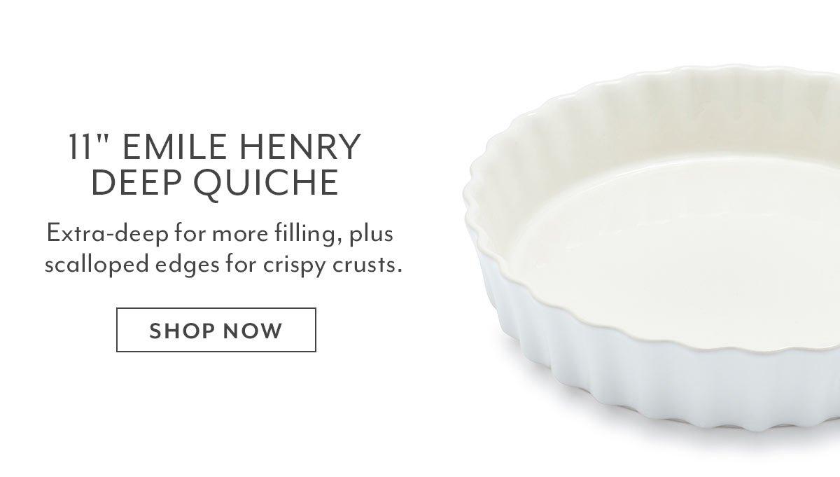 Emile Henry Quiche Dish