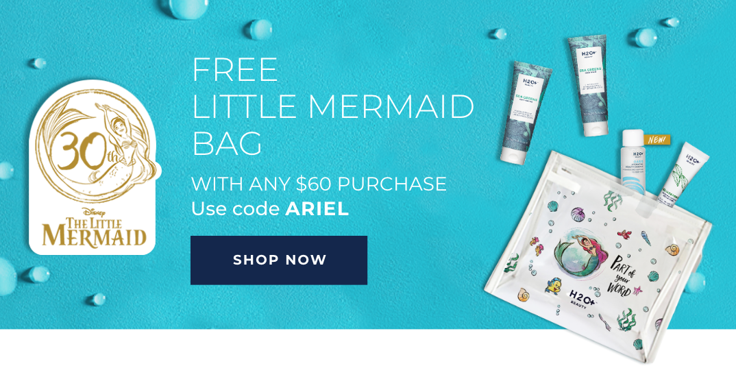 FREE Little Mermaid bag with any $60 purchase - Use code ARIEL - SHOP NOW