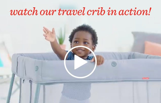 Watch our travel crib in action!