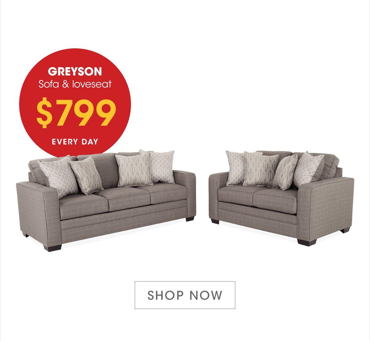 Amazing Bobs Discount Furniture My Greyson Complete Living Room Set Machost Co Dining Chair Design Ideas Machostcouk