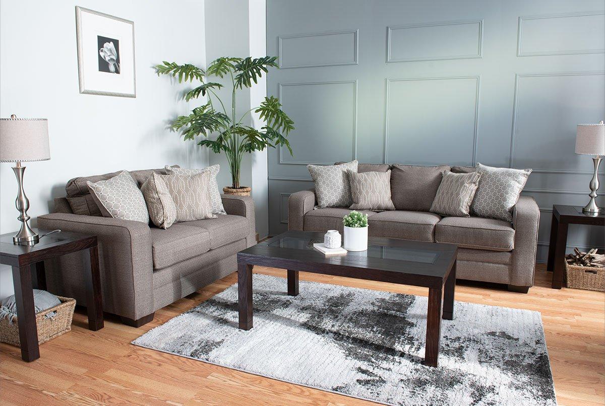 Tremendous Bobs Discount Furniture My Greyson Complete Living Room Set Machost Co Dining Chair Design Ideas Machostcouk