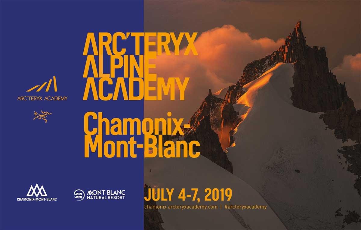 ARC'TERYX ALPINE ACADEMY CHAMONIX MONT-BLANC