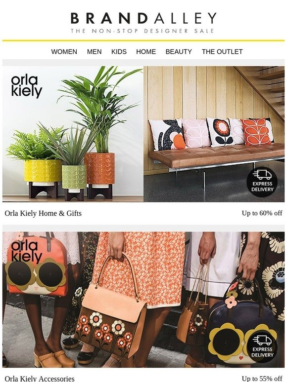 d738c199e brandalley uk limited: CLOSING SOON: Orla Kiely | Milled