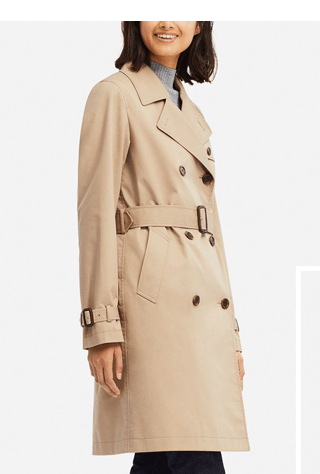 WOMEN TRENCH COAT $79.90