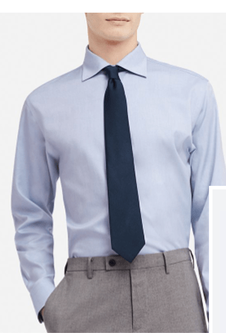 MEN SUPER NON-IRON SLIM-FIT LONG-SLEEVE SHIRT - BUY 2, GET $5 OFF