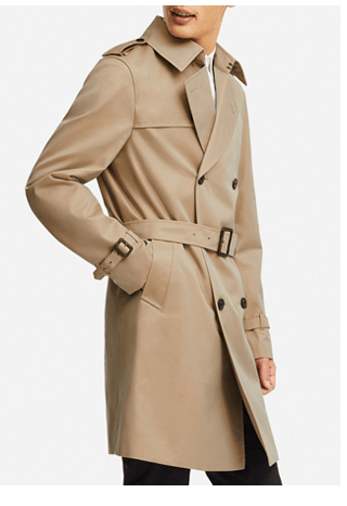 MEN TRENCH COAT $129.90