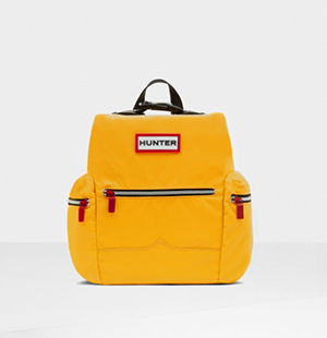 Original Top Clip Backpack - Nylon: Yellow