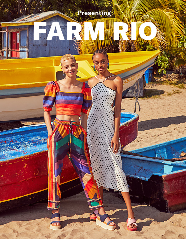 Meet the new-to-us Brazilian label, famous for its kaleidoscopic prints, carefree cuts, and punchy hues.