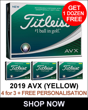 Titleist AVX 4 For 3 Yellow