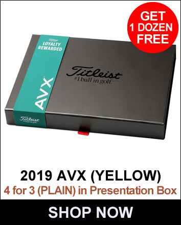Titleist AVX 4 For 3 Yellow (Plain)