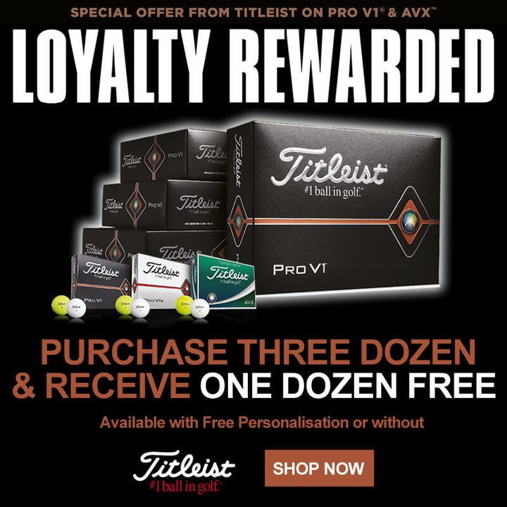 Titleist 4 For 3 Golf Ball Promo - Shop Now
