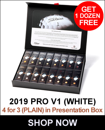 Titleist Pro V1 4 For 3 White (Plain)