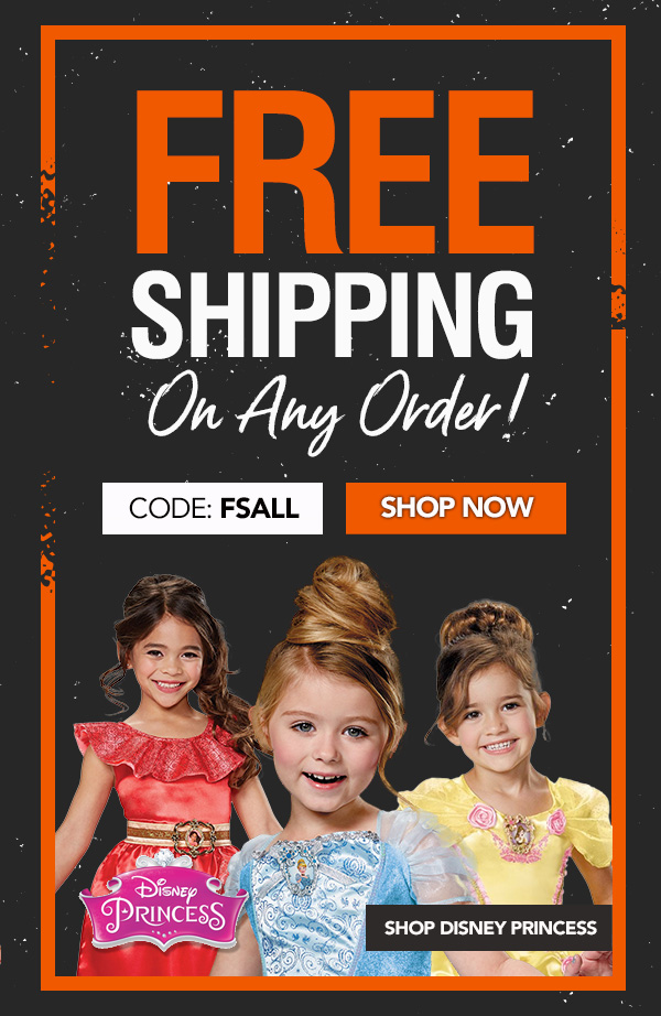 Free Shipping on Any Order! Use Promo Code FSALL