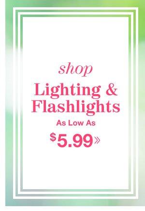Shop Lighting & Flashlights!