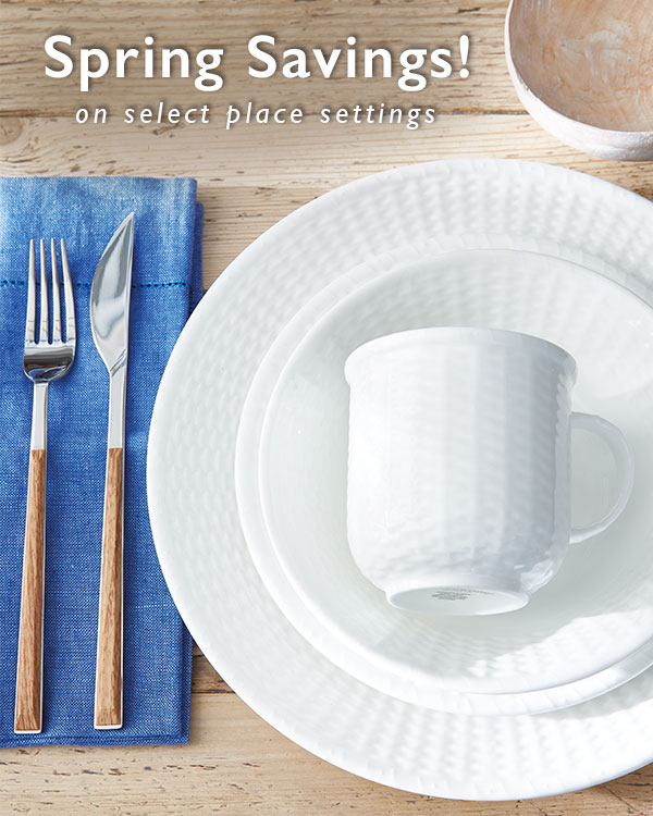 Nantucket Basket 4-Piece Place Setting