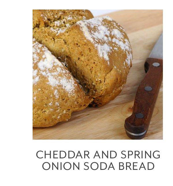 Recipe: Cheddar & Spring Onion Soda Bread