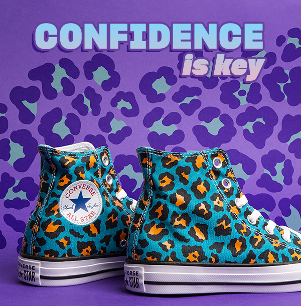 uk availability c5403 e86b9 converse-all-star-courtside-animal-hi-blue-trainers
