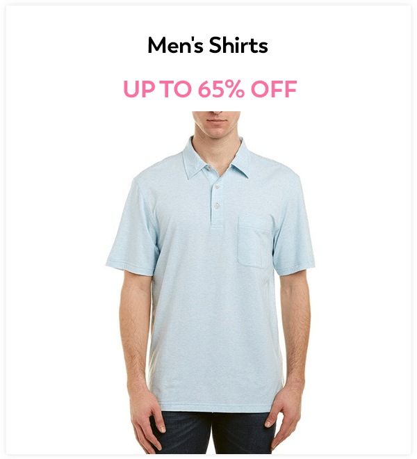 Up to 65% Off Men's Shirts